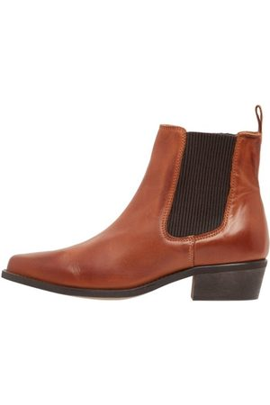 Bianco Chelsea boots Western-look