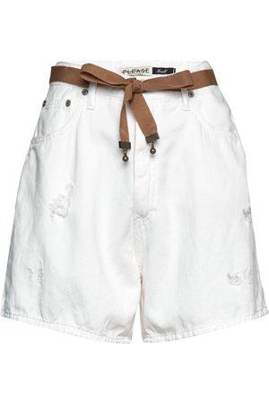 Please Kvinna Shorts - Cool Bermuda Shorts Denim Shorts Grön