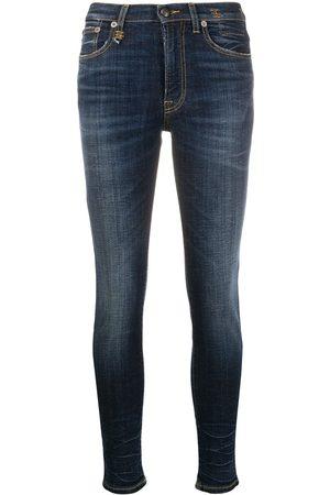R13 High-rise skinny jeans