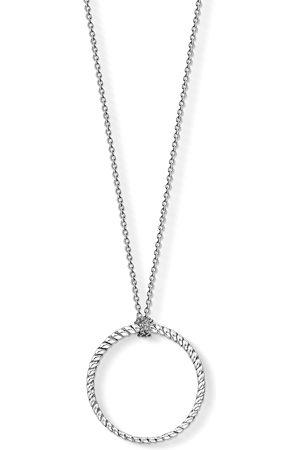 Thomas Sabo Halsband - Charm-halsband Cirkel stor