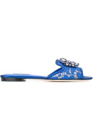 Dolce & Gabbana Bianca' sliders