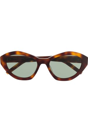 Saint Laurent Sköldpaddsfärgade solglasögon