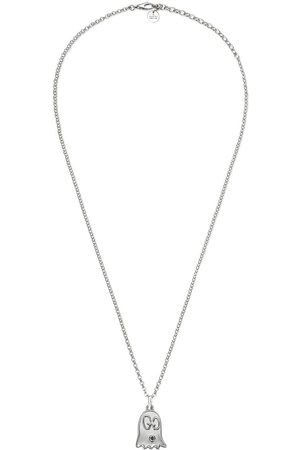Gucci Ghost necklace in silver