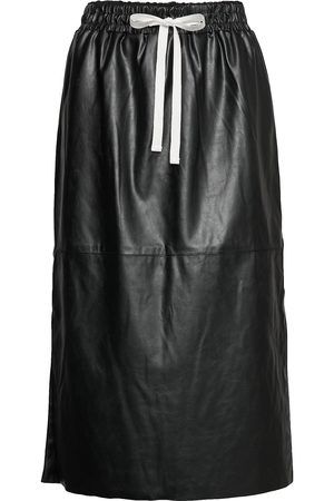 Designers Remix Leather Free Leather Skirt With Elasticated Waist