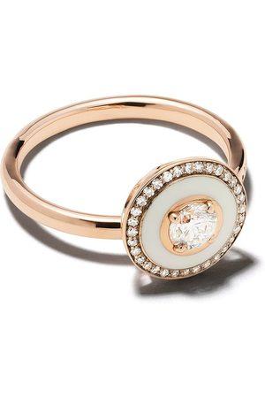 SELIM MOUZANNAR Mina diamantring i 18K roséguld