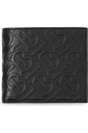 Burberry Dubbelvikt plånbok med monogram