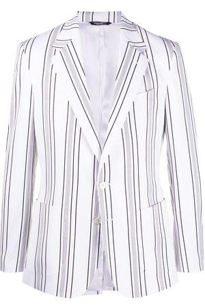 Dolce & Gabbana Striped pattern blazer