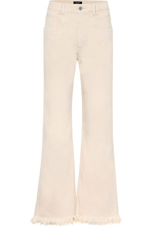Isabel Marant Elvira high-rise wide-leg jeans
