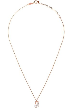 Tasaki Balance Class Collection Line Akoya pärl- och diamanthalsband i 18K roséguld