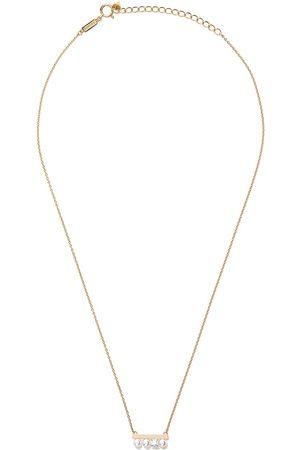 Tasaki Kvinna Halsband - Balance Akoya pärl- och diamanthalsband i 18 K rött guld