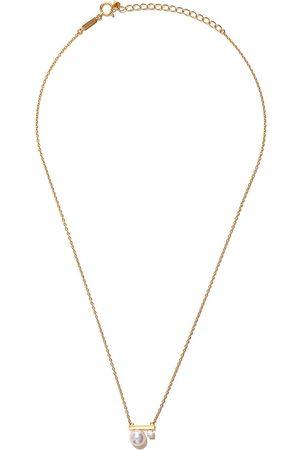 Tasaki Balance Class Akoya pärl- och diamanthalsband i 18 K rött guld