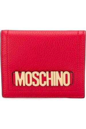 Moschino Plånbok med logotypplakett