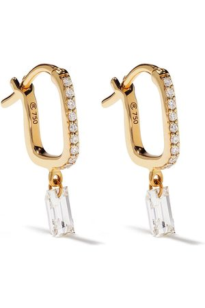 Raphaele Canot Set Free diamantörhängen i 18K gult guld