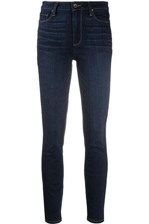 Paige Skinny-jeans med hög midja