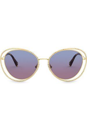 Miu Miu La Mondaine cat-eyesolglasögon