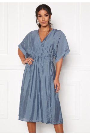 Dry Lake Vanessa Dress 461 Blue Dove L