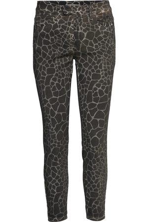 Please Femi Giraffa Skinny Jeans Grön