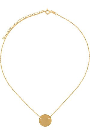 HSU JEWELLERY LONDON Making Marks Disc halsband