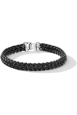 David Yurman Man Armband - Vävt armband med kedja