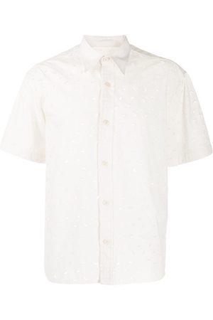 Ami Kortärmad skjorta med brodyr