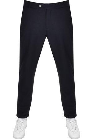 Les Deux Como Pinstripe Cropped Slim Trousers