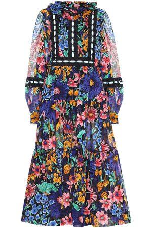Marc Jacobs Kvinna Midiklänningar - Cotton-voile floral midi dress