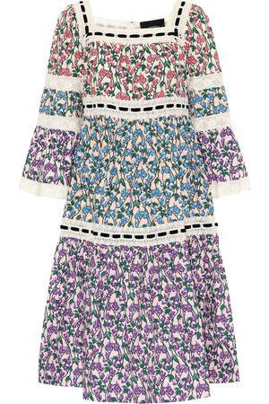 Marc Jacobs Floral cotton midi dress