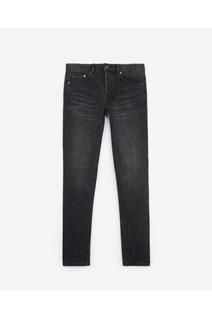 TK + TKS Slim-fit faded black jeans