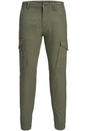 Jack & Jones Paul Flake Linen Akm 982 Cargobyxor Man