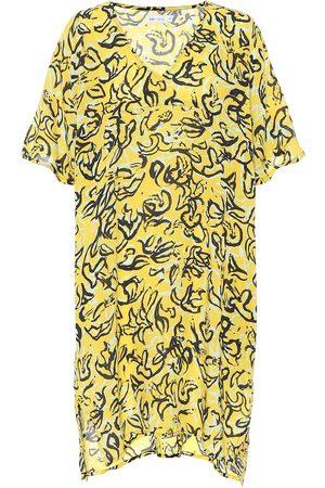 Diane von Furstenberg X Onia Hanna floral kaftan