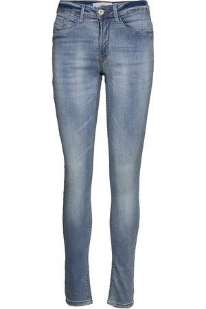 Ichi Erin Izaro Light Blue Bleached Skinny Jeans