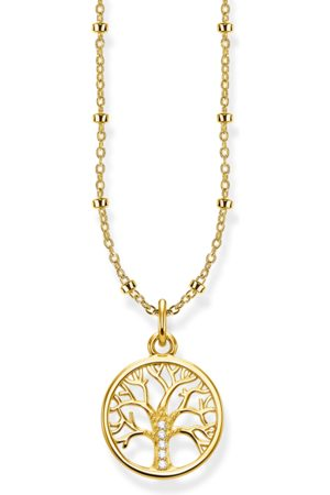 Thomas Sabo Kvinna Halsband - Halsband Tree of Love guld