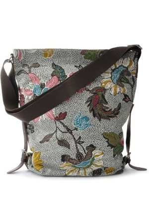 Ceannis Shoulder Bag Flower Linen