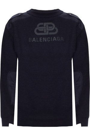Balenciaga Knitted sweater with logo