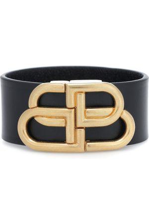 Balenciaga Kvinna Armband - BB leather bracelet