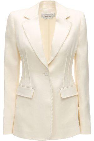 GABRIELA HEARST Lvr Sustainable Linen Blazer
