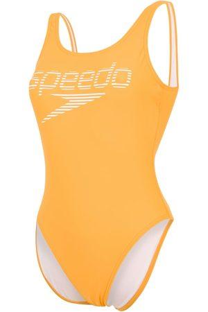 Speedo Stripe Logo Deep U-back