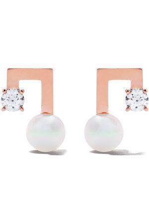 Tasaki Diamantörhängen i 18K rosé