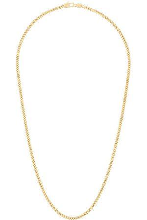 TOM WOOD Guldpläterat halsband i sterling silver