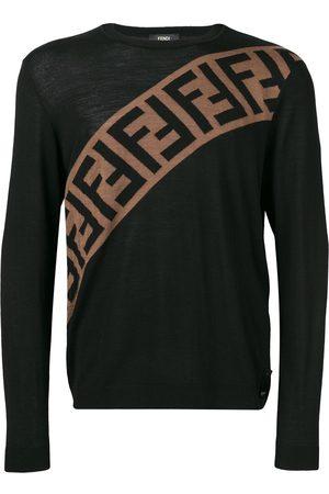 Fendi Sweatshirt med logotyp