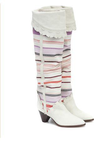 Isabel Marant Luiz suede knee-high boots