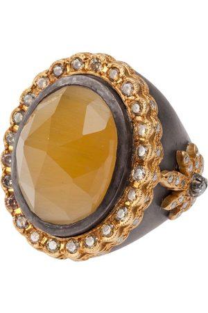 Sara Weinstock Yellow beryl ring