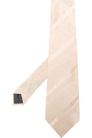 Gianfranco Ferré Man Slipsar - 1990s jacquard geometric pattern tie