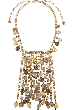 Gianfranco Ferré 2000s bead embellished necklace