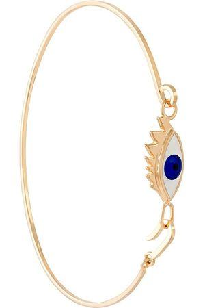 DELFINA DELETTREZ Anatomik 9kt gold bracelet