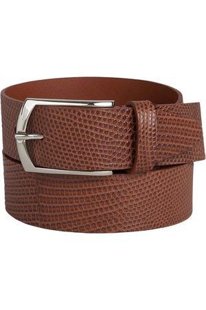 Santa Eulalia Snake Leather Belt