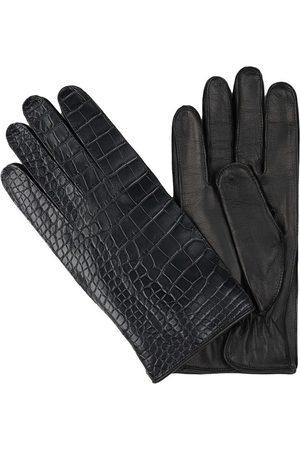 Santa Eulalia Crocodile gloves
