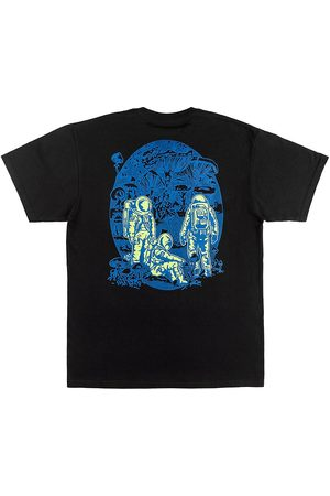 A.Lab Planet of Funghi T-Shirt black