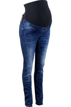 Bonprix Mammajeans med destroyed look, skinny