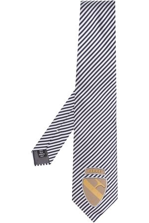 Gianfranco Ferré Pre-Owned Man Slipsar - Randig slips från 1990-talet